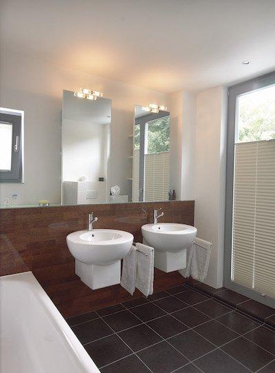 L'éclairage de salle de bain