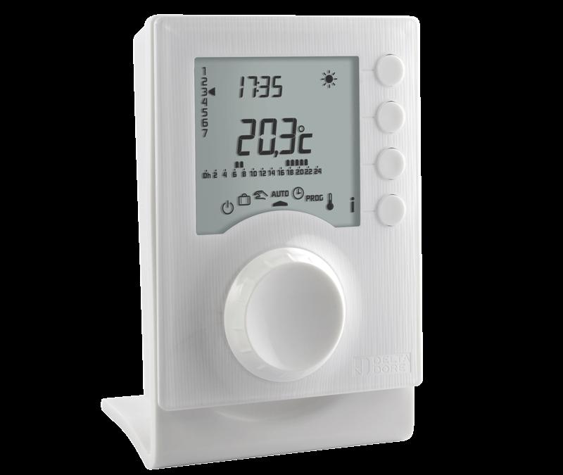 Tybox 1137, le nouveau thermostat connecté Delta Dore